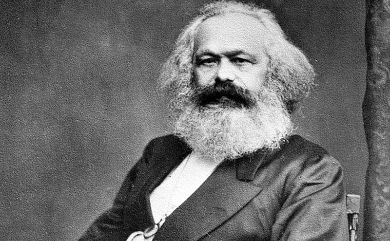Porträt Karl Marx
